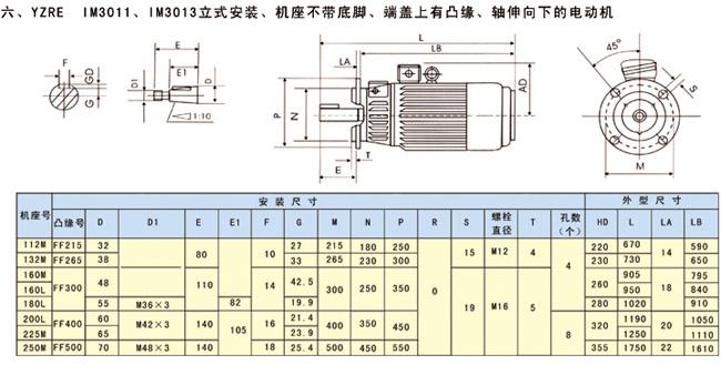 >> yze,yzre系列起重及冶金用电磁制动三相异步电动机
